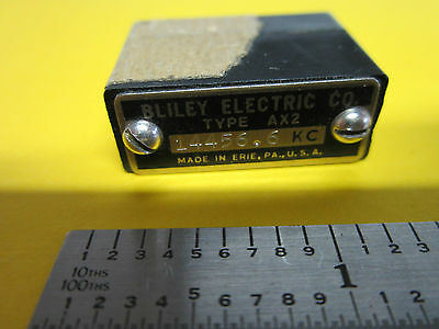 Vintage Bliley Ax2 14456.6 Kc Quartz Crystal Frequency Standard