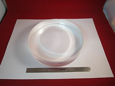 Huge Optical Mil Spec Thick Crystal Infrared Laser Optics As Is Bin#c4-1-D