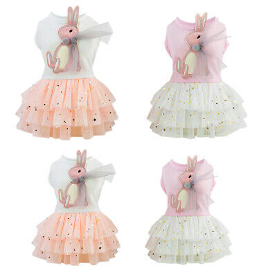 Popular Puppy Pet Dress Lace Skirt Cat Princess Dress Small Dog Clothing