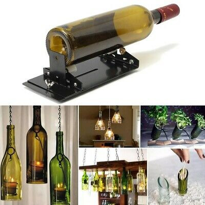New Staine Glass Bottle Cutter Machine Wine Beer Glass Bottles Cutting Tool AU