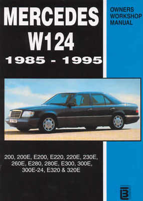 Owners Workshop Manual Mercedes Benz W124 1985-1995 Service Repair