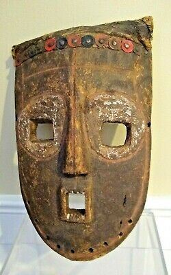 Genuine Antique African Mask - CONGO - Early to Mid 20th Century