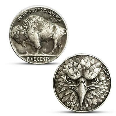 Five Cents Eagle Commemorative Coin Collection Gift