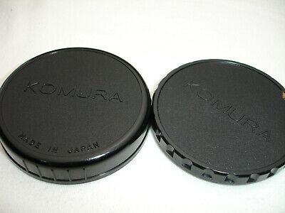 KOMURA H rear and front caps  for Hasselblad 6x6 Teleconverter 2x  ( cap )