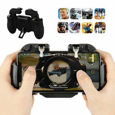 For PUBG Mobile iOS Android Controller Gamepad Gaming Trigger Easy to install CA