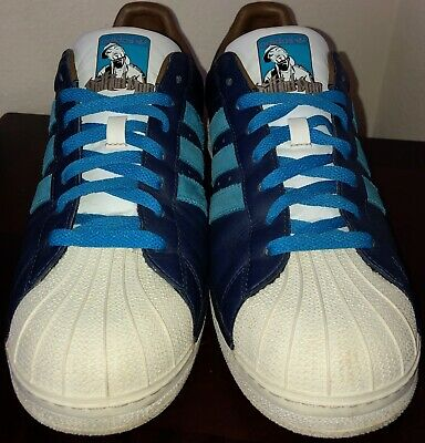 pretty nice 42a33 7af5d ULTRA-RARE SAMPLE Mens 11.5 Authentic Adidas Superstar 2 x Method Man  Sneakers