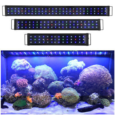 "24"" 36"" 48"" LED Aquarium Light Multi-Color Full Spectrum Fish Tank Plant Light"