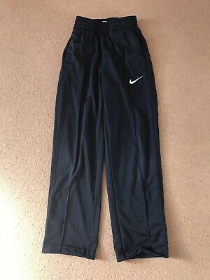 Boys / Girls Nike Navy Tracksuit Bottoms - Age 8-10 Years - Elasticated Waist