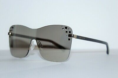 a3a89217209 New Jimmy Choo Mask s 138 M3 Rose Gold Grey Mirror Authentic Sunglasses 99-