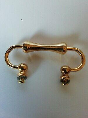 reclaimed vintage Brass Carriage Clock Handle.6.5CMS WIDE spares /repairs #15