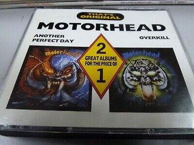 Motorhead – Another Perfect Day / Overkill - 2 ALBUMS 79+83 1ST RARE FRANCE 2CD