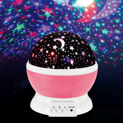 3Universe Night Light Projection Lamp Star Sea Projector Lamp For Bedroom US