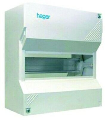 Hager SURFACE MOUNTED ENCLOSURE 140x250x65mm 12-Modules 1-Row *German Brand