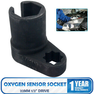 """22mm 1/2"""" Drive O2 Oxygen Sensor Socket Remover Wrench Removal Nut Offset Tool"""