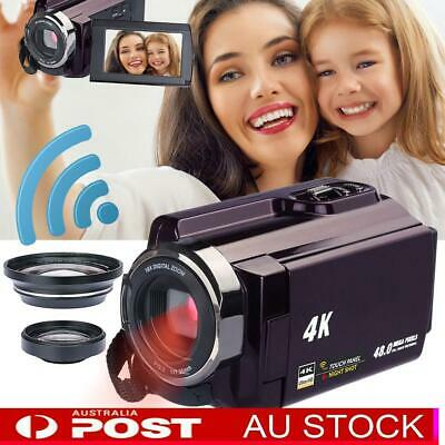 4K Video Camera 48.0MP 60FPS Ultra Digital Cameras Wifi/Infrared Night Vision