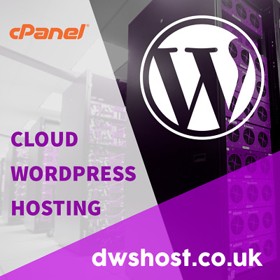 12 Months Website Hosting - Unlimited Cloud WordPress Hosting - *FREE DOMAIN*