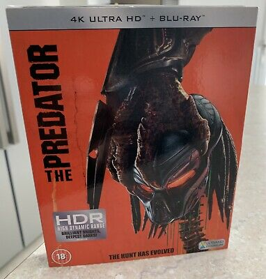 The Predator [2018] 4K Ultra HD Blu ray & Blu ray (new Sealed)