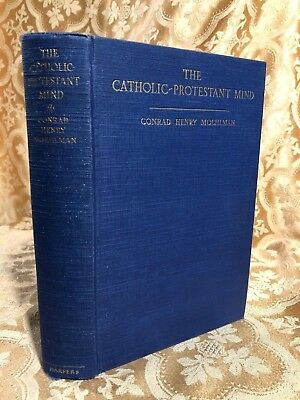 1929 Catholic Protestant Mind Aspects of Religious Liberty in US Antique Book