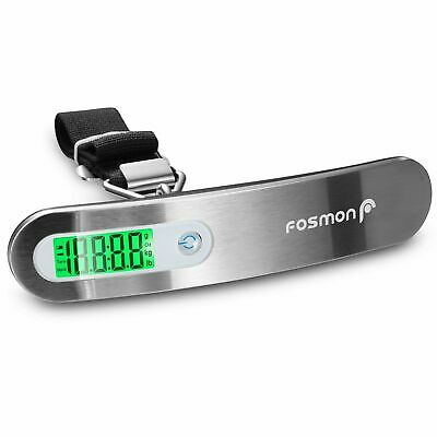 Travel Portable 110lb 50kg LCD Digital Hanging Luggage Scale Electronic Weight