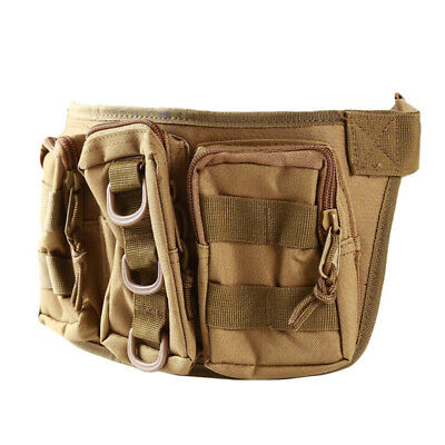 Utility Outdoor Waist Backpack Pack Military Camping Hiking Belt Tactical Bag N7