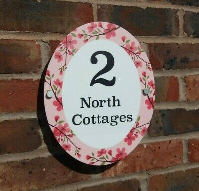 House Number Plaque Acrylic Door Sign Name Business Plaques