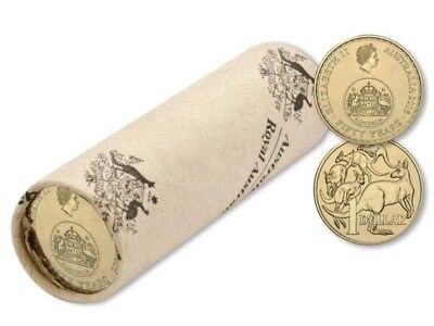 2016 $1 Decimal Currency 50th Anniversary Changeover Mint Roll, $1 VERY SCARCE