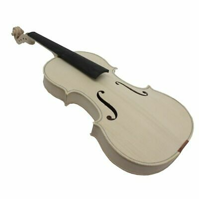 Unfinished White Violin Selective Top Handmade Full Size With Fittings