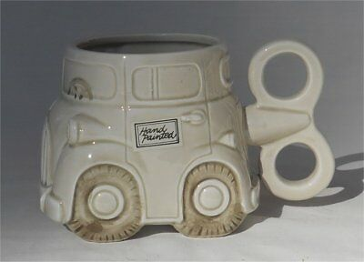 Vintage 1978 Fitz & Floyd Auto Car Coffee Mug
