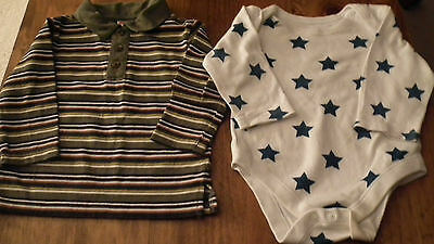 Two Great tops 9-12 months Fisher price and M