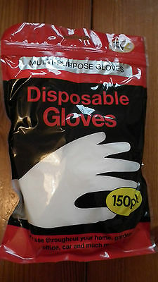 150 pairs of Multi Purpose Disposable Gloves