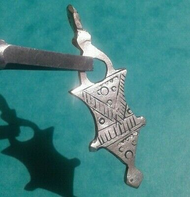 Rare Ancient Silver Viking Thors Hammer Amulet Pendant C 8th / 9th.cent AD.