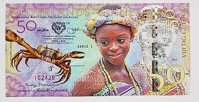Niederlande Guinea (Ghana) 50 Gulden, 2016 Private Issue POLYMER, UNC