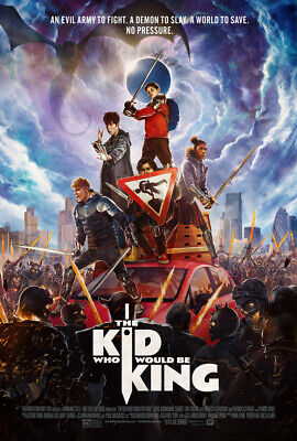 The Kid Who Would Be King (2019, blu ray disc ONLY) NO CASE/DVD/digital⬇️Read⬇️