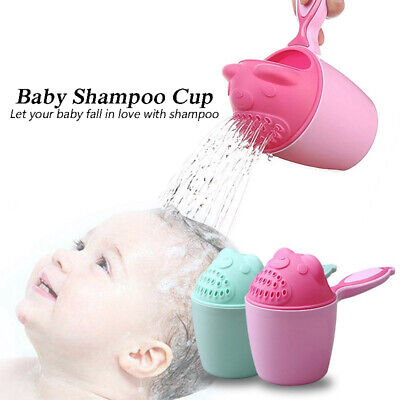 Products Bath Water Storage Baby Shampoo Cup Infant Spoon Shower Bailer