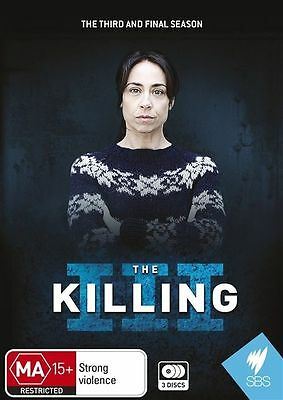 The Killing : Series Season 3 (DVD, 2013, 3-Disc Set) NEW SEALED - FREE POST