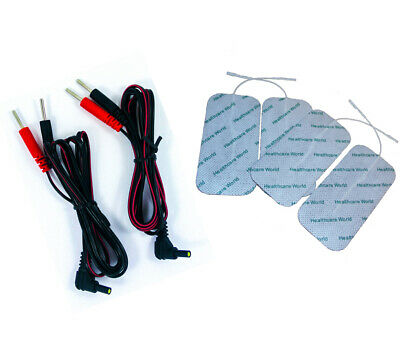1 Pair Female Pin Leads With Large Electrode Pads High Quality Mixed Listing