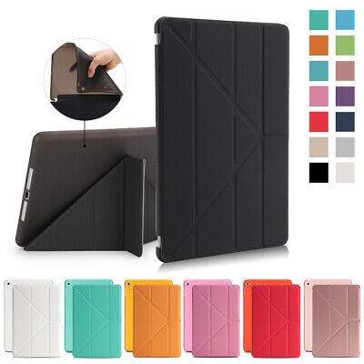 """For Apple iPad 2018 9.7"""" 6th Mini 5 Magnetic Stand Flip PU Soft Smart Case Cover"""