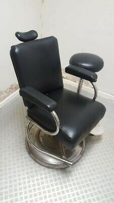 Vintage barber chair, the Murray Stool