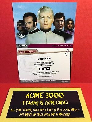 Gerry Anderson UFO Set Of 4 Promo Preview Cards P1 P2 P3 /& P4 Cards Inc