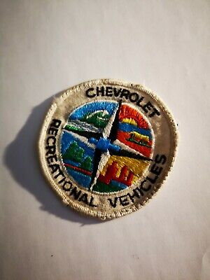 Vintage Chevrolet Recreational Vehicles Embroidered Cloth Patch