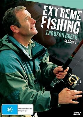Extreme Fishing With Robson Green : Season 1 (DVD, 2010) NEW SEALED - FREE POST