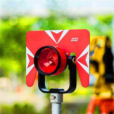 NeW 5PCS  Prism with Bag for total station 0/-30mm Constant Prism