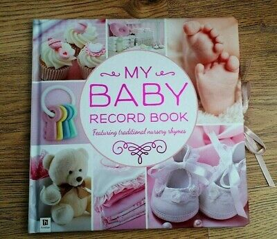 PERSONALISED My baby record book, , new baby, new mum, baby shower journal