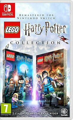 LEGO Harry Potter Collection Nintendo Switch - Region Free - Brand New