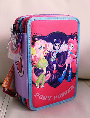 Equestria Girls Astuccio Scuola 3 Zip My Little Pony Cartorama