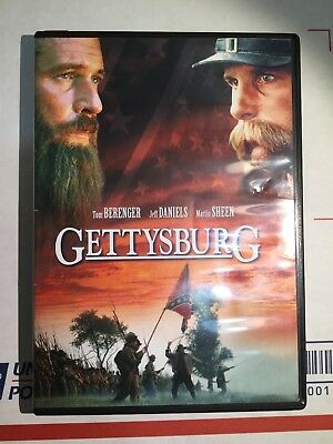 Gettysburg (Widescreen Edition) DVD - USED - FREE SHIPPING