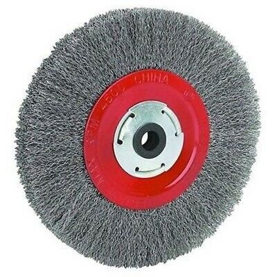 "8"" Steel Metal Wire Brush Wheel for Bench Grinder"
