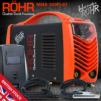 ARC Welder Inverter MMA 240V 200amp DC Portable Stick Welding Machine - ROHR 07