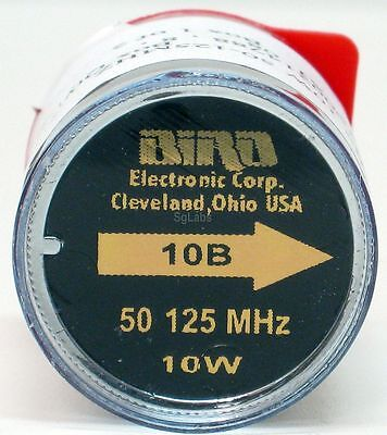 BIRD elemento 10B 50-125 MHz 10W element 43, 4391A NEW! NUOVO!