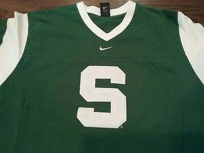 86ca788ac6a MICHIGAN STATE SPARTANS Nike Reversible Practice Basketball Jersey ...